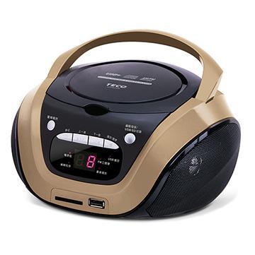 【展示機】TECO USB手提CD音響