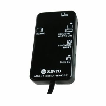 KINYO KCR-369多合一晶片讀卡機