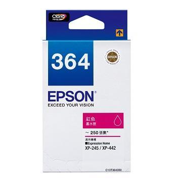 愛普生EPSON 364 紅色墨水匣