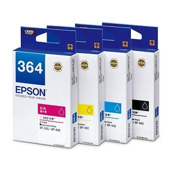 愛普生EPSON 364 墨水匣量販組合包