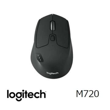 【送耳機】羅技 Logitech M720 Triathlon 多工跨平台無線滑鼠