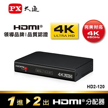 大通 1進2出HDMI分配器(4K*2K)