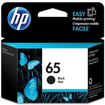 惠普HP 65 黑色原廠墨水匣