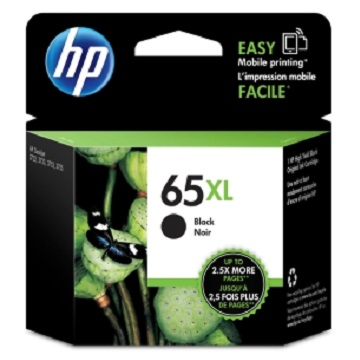 HP 65XL 黑色原廠墨水匣