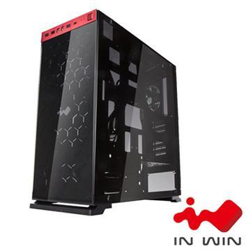 IN WIN 805 2小電腦機殼-紅黑 805Standard-RB