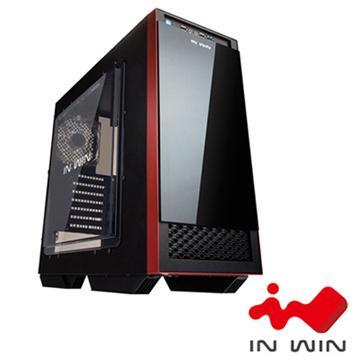 IN WIN 503 2大4小電腦機殼-白黑 503-WB