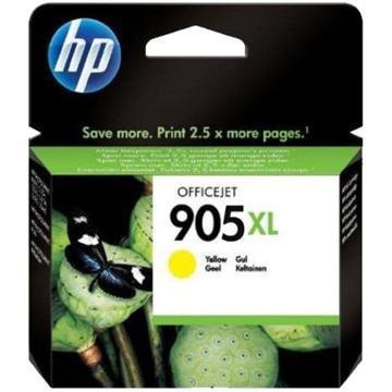 惠普HP 905XL 高印量黃色原廠墨水匣