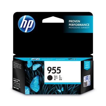 惠普HP 955 黑色原廠墨水匣 L0S60AA