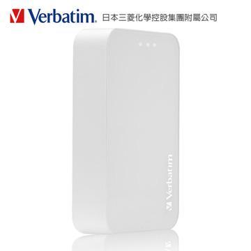 Verbatim 10400mAh 行動電源-白