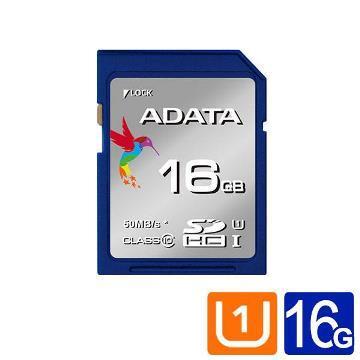 ADATA威剛 Premier SDHC UHS-I U1 16GB記憶卡