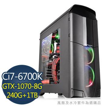 [霸王水冷]-華碩Z170平台組裝電腦