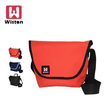 Wiston W121 相機郵差包(小)-藍