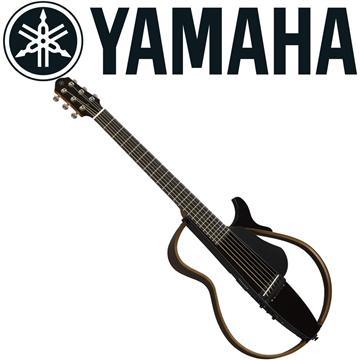 山葉YAMAHA 靜音民謠吉他 黑色 SLG200STBL