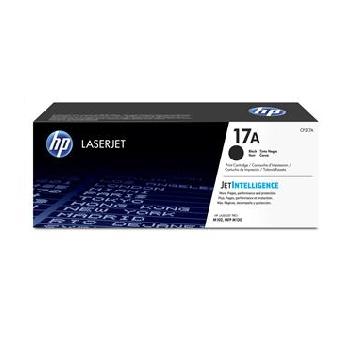 惠普HP 17A 黑色原廠碳粉匣 CF217A