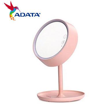 ADATA 威剛LED 炫彩化妝鏡檯燈(粉)