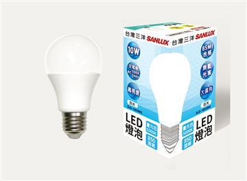 台灣三洋10W LED燈泡 白光