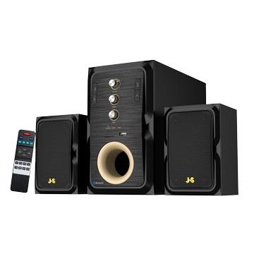 (福利品)JS淇譽 藍牙多媒體三件式喇叭