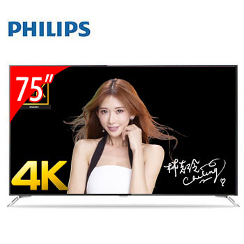 PHILIPS 75型4K LED 智慧型電視