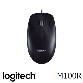 羅技Logitech M100R 2017 有線光學滑鼠