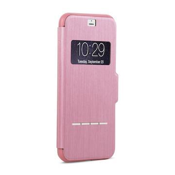 【iPhone 8 Plus / 7 Plus】moshi SenseCover 感應式保護套-粉