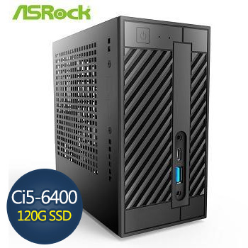 ASRock 華擎 Ci5-6400 8G 120G SSD迷你準系統