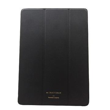 """【9.7""""】M.CRAFTSMAN iPad極輕薄保護套-黑"""