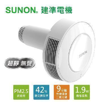 建準SUNON 雙流新風機Flow2One 21-24cm