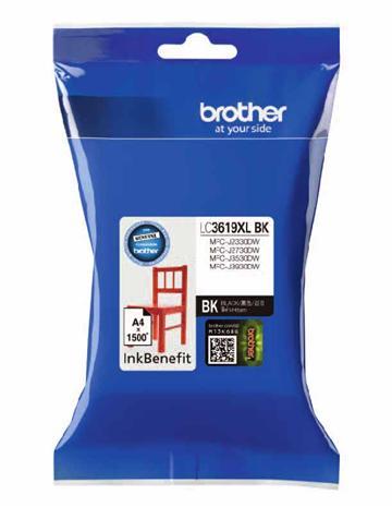 Brother LC-3619XLBK 黑色墨水匣 LC-3619XLBK