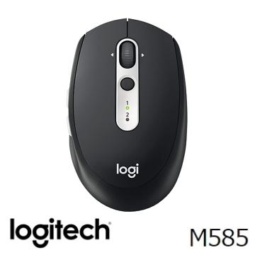 Logitech羅技 M585 無線滑鼠 黑(910-005111)