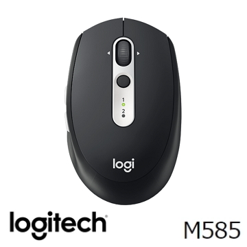 Logitech羅技 M585 無線滑鼠 黑