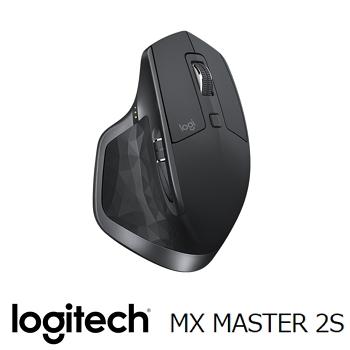 Logitech羅技 MX Master 2S 無線滑鼠 黑(910-005144)