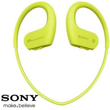 SONY索尼 Walkman 4GB 防水藍牙運動MP3 綠