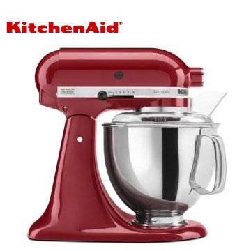 KitchenAid桌上型攪拌機-經典紅