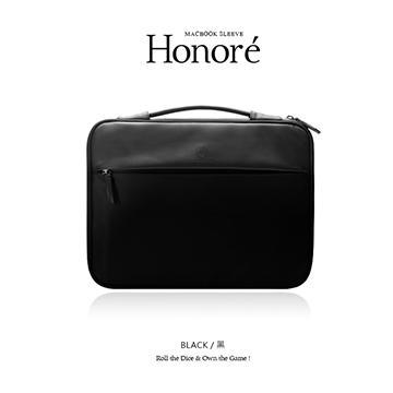"【13""】JTL Honore Macbook 旅行筆電內袋-黑 13吋筆電內袋 黑"