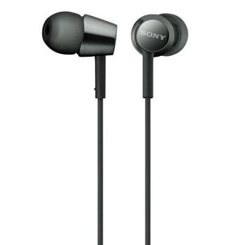 索尼SONY 入耳式耳機-黑