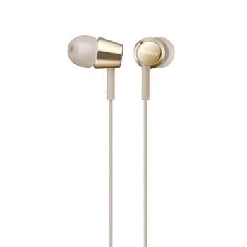 (福利品)SONY索尼 入耳式耳機-金