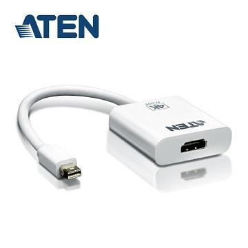 ATEN 4K MiniDP轉HDMI主動式轉接器