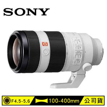 索尼SONY E接環全幅GM鏡100-400mm望遠鏡頭