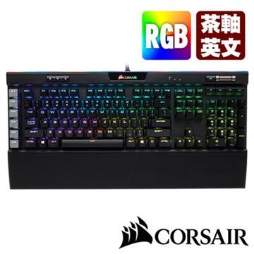 CORSAIR K95 PLATINUM RGB電競鍵盤-茶軸US