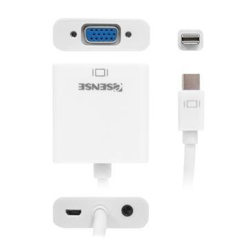 Esense Mini Displayport轉VGA轉接器