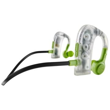 BlueAnt PUMP 2 防水藍牙運動耳機-透明綠