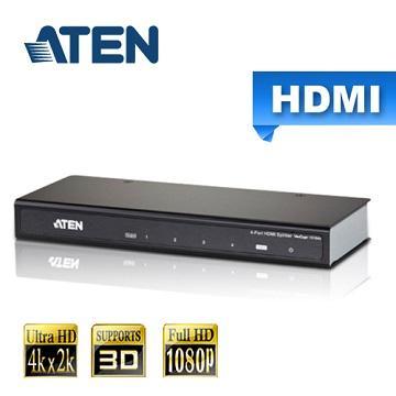 ATEN VS184A 4埠HDMI影音分配器