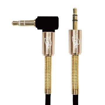 T.C.STAR 3.5mm手機免持聽筒音源線-1.2M