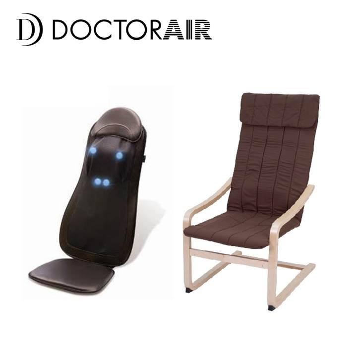 【紓壓組合】DOCTOR AIR 3D頂級按摩墊+紓壓椅