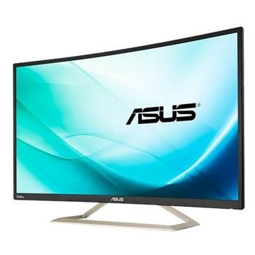(福利品)ASUS華碩 32型 VA曲面電競顯示器