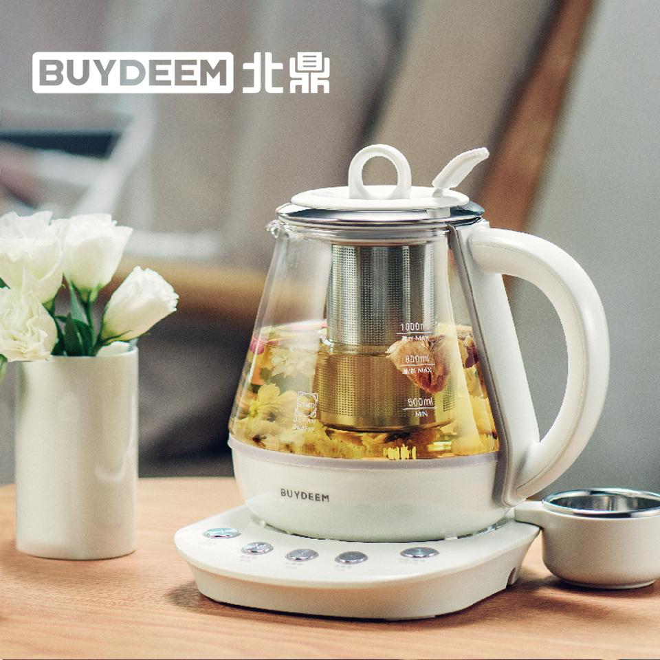 北鼎BUYDEEM 1.0L 多功能烹煮One用壺(本白色)