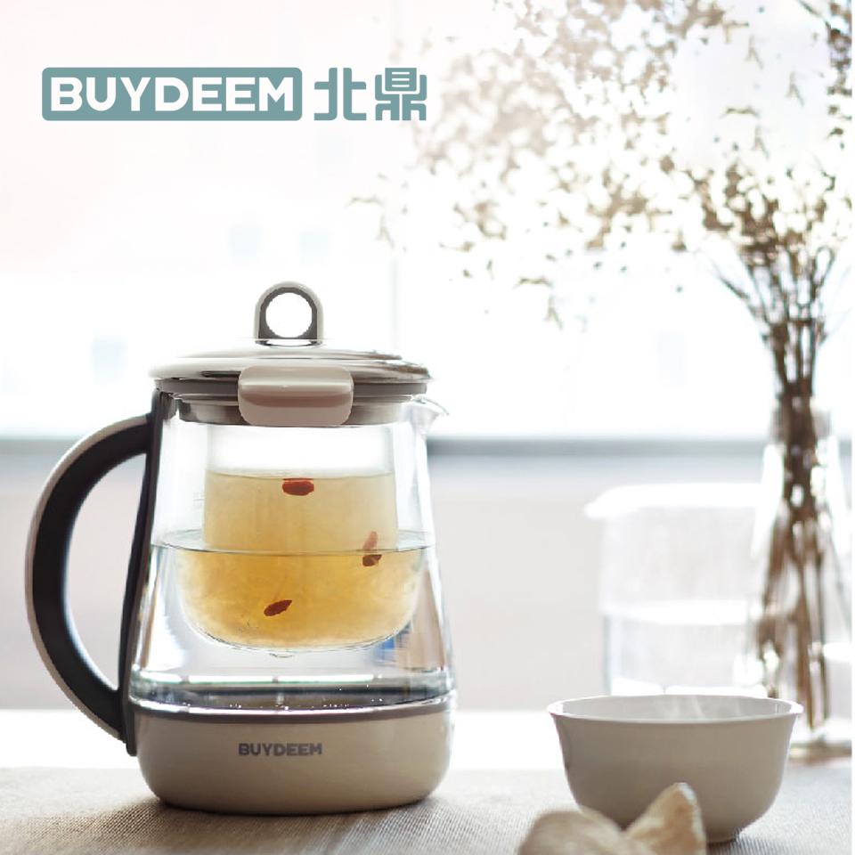 北鼎1.5L多功能烹煮美顏壺(珍珠灰)