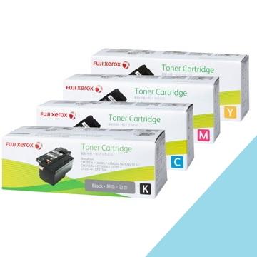 (兩入組)Fuji Xerox 彩雷4色碳粉原廠高容量超值組 CT201591. CT201592. CT201593. CT201594