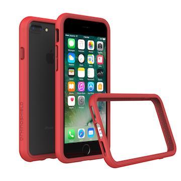 【iPhone 8 Plus / 7 Plus】RHINO SHIELD 犀牛盾防摔邊框 - 紅色