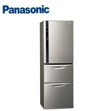 【福利品】Panasonic 385公升三門變頻冰箱